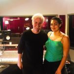Alexander Burnett + Thelma Plum in studio, recording Better in Blak
